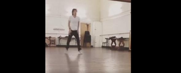 Jagger torna a ballare
