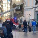 VIDEO |  Crolla muro adiacente chiesa Rosariello a Napoli: nessun ferito